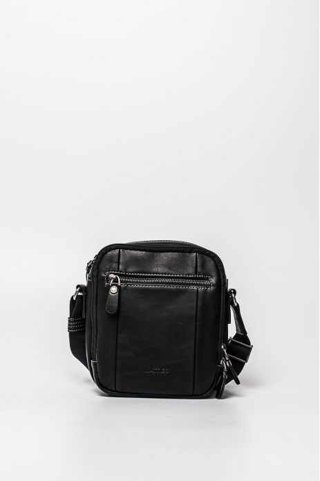 FRONTAL POCKET SHOULDER BAG